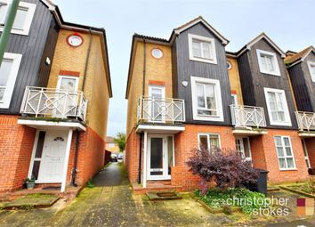 Thumbnail 3 bed end terrace house for sale in Thorneycroft Drive, Enfield, Middlesex