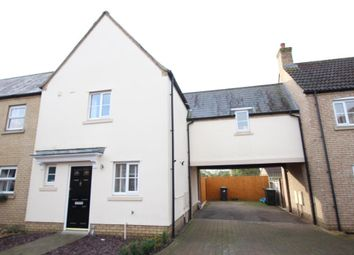 Thumbnail 3 bedroom end terrace house for sale in Teasel Drive, Ely