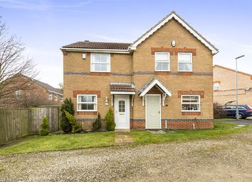 Thumbnail 2 bed semi-detached house for sale in Uplands Close, Crook