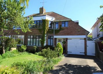 Thumbnail 3 bed semi-detached house for sale in Trent Road, Goring-By-Sea, Worthing