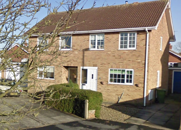 Thumbnail 3 bed semi-detached house to rent in Carroway Close, Bridlington