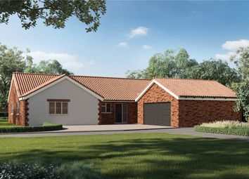 Thumbnail 4 bed detached bungalow for sale in Framingham Earl Road, Yelverton, Norwich, Norfolk