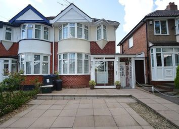 Thumbnail 3 bed semi-detached house to rent in Corisande Road, Birmingham, West Midlands.