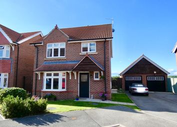 Thumbnail 4 bed detached house for sale in Station View, Hambleton, Selby