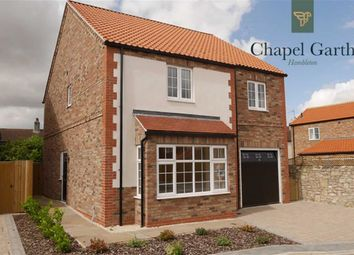 Thumbnail 4 bed detached house for sale in Chapel Close, Hambleton, Selby