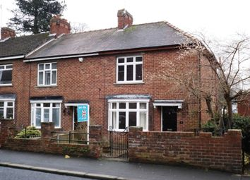 Thumbnail 2 bed end terrace house to rent in Mitford Road, Morpeth