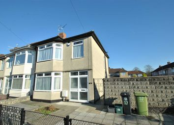 Thumbnail 3 bed end terrace house for sale in Stoneleigh Road, Knowle, Bristol