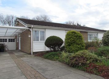 Thumbnail 2 bed bungalow for sale in Aidan Close, Wideopen, Newcastle Upon Tyne