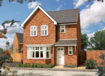 "Thumbnail 3 bed detached house for sale in ""The Epsom"" at Fieldgate Lane, Whitnash, Leamington Spa"