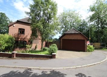 Thumbnail 4 bed detached house for sale in Bishops Court, Bishopstoke, Eastleigh