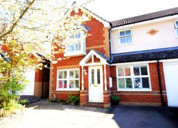 Thumbnail 3 bed semi-detached house for sale in Decouttere Close, Church Crookham, Fleet