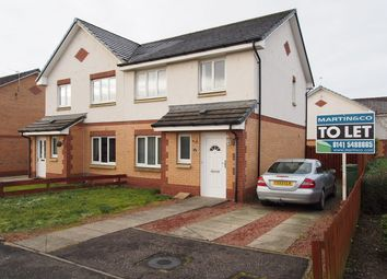 Thumbnail 3 bed semi-detached house to rent in Whitacres Road, Glasgow, Glasgow