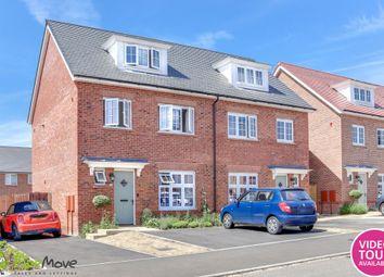 4 bed semi-detached house for sale in Mallard Crescent, Caddington, Luton LU1