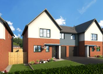 "Thumbnail 4 bedroom property for sale in ""The Alder At Meadow View, Shirebrook"" at Brook Park East Road, Shirebrook, Mansfield"