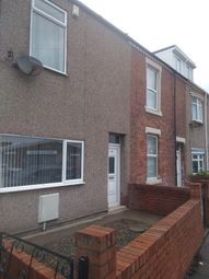 Thumbnail 2 bedroom terraced house to rent in Plessey Road, Blyth, Northumberland
