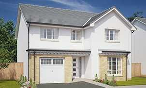 Thumbnail 4 bedroom detached house for sale in Middleton Road, Perceton, Irvine, North Ayrshire