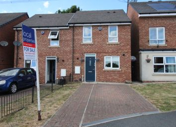 Thumbnail 2 bed semi-detached house for sale in Fieldhead Crescent, Birstall, Batley