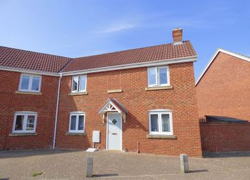 Thumbnail 3 bed end terrace house for sale in Careys Way, Weston-Super-Mare