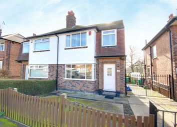 Thumbnail 3 bedroom semi-detached house for sale in Tewkesbury Drive, Basford, Nottingham