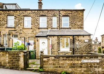 Thumbnail 2 bedroom end terrace house for sale in Hall Street, Longwood, Huddersfield