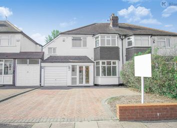 Sherwood Road, Hall Green, Birmingham B28. 4 bed semi-detached house