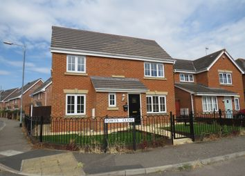 Thumbnail 4 bedroom detached house for sale in Rochester Road, Corby
