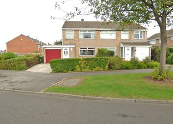 Thumbnail 3 bedroom semi-detached house for sale in Keilder Rise, Middlesbrough