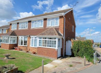 Thumbnail 3 bed semi-detached house for sale in Columbia Avenue, Seasalter, Whitstable