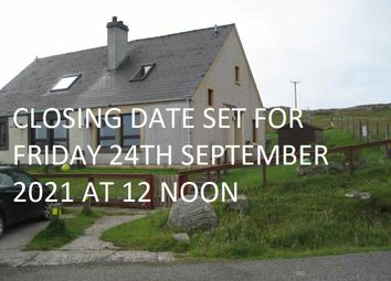 Thumbnail 3 bed semi-detached house for sale in Vatersay, Isle Of Barra