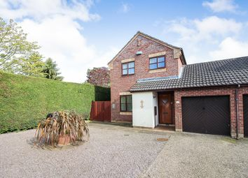 Thumbnail 3 bed link-detached house to rent in Spruce Crescent, Poringland, Norwich