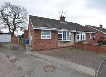 Thumbnail 2 bed semi-detached bungalow for sale in Calder Crescent, Pollington, Goole