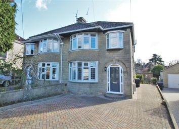 Thumbnail 4 bed semi-detached house for sale in East Yewstock Crescent, Chippenham