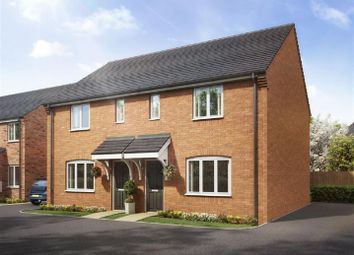 Thumbnail 3 bed semi-detached house for sale in Kings Gate, Chaffinch Drive, Shepshed, Loughborough