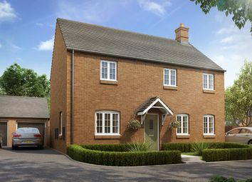 "Thumbnail 4 bed detached house for sale in ""The Halse"" at Heathencote, Towcester"