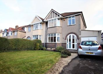 Thumbnail 3 bed semi-detached house to rent in Stoke Lane, Westbury On Trym, Bristol