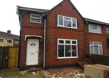 Thumbnail 3 bed semi-detached house to rent in Portsea Street, Walsall