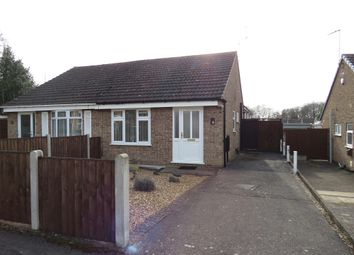 Thumbnail 2 bed semi-detached bungalow for sale in Cromer Close, Mickleover, Derby