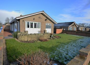 Thumbnail 3 bed bungalow for sale in Farndale Gardens, Shildon, County Durham