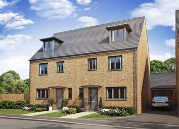 "4 bed terraced house for sale in ""The Leicester "" at Brickburn Close, Hampton Centre, Peterborough PE7"