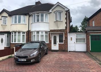 Thumbnail 3 bed semi-detached house to rent in Valley Road, Solihull, Solihull
