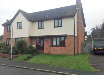 Thumbnail 3 bed semi-detached house to rent in The Pastures, Rushmere St. Andrew, Ipswich