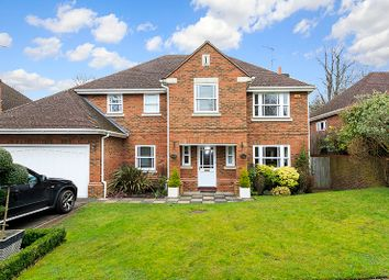 Thumbnail 4 bed detached house for sale in Howitts Close, Esher