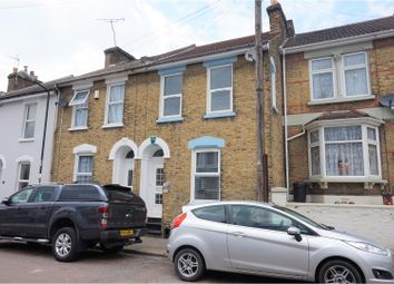Thumbnail 3 bed terraced house for sale in Montfort Road, Rochester