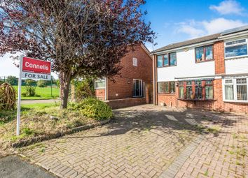 Thumbnail 3 bed semi-detached house for sale in Throne Close, Rowley Regis
