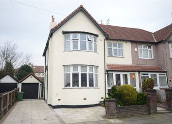 Thumbnail 5 bed semi-detached house for sale in Teasville Road, Calderstones, Liverpool