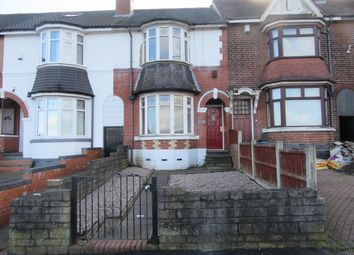 Thumbnail 3 bed terraced house to rent in Friary Road, Handsworth Wood, Birmingham