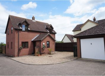 Thumbnail 4 bedroom detached house for sale in Half Moon Lane, Redgrave