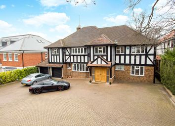 Thumbnail 5 bedroom detached house for sale in Stradbroke Drive, Chigwell