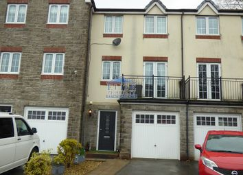 Thumbnail 3 bed town house for sale in Cwrt Tynewydd, Ogmore Vale, Bridgend County.