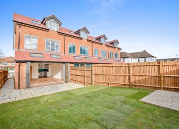 Thumbnail 4 bed town house for sale in Church Road, Old Malden, Worcester Park